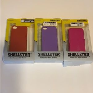 IPHONE 4 SHELLCASE WITH HOLSTER
